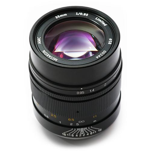 Mitakon Zhongyi 35mm f/0.95 Lens for Sony E MTK35M95APSC