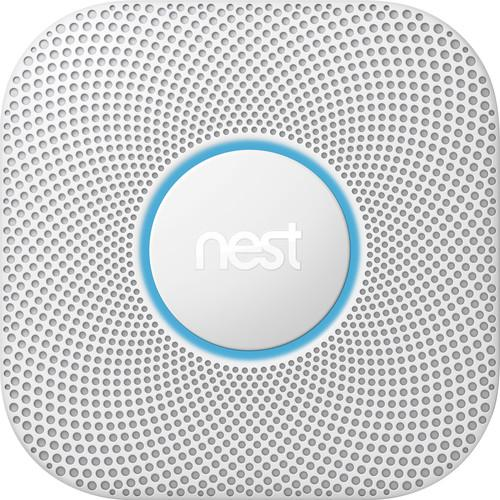 Nest Protect Battery-Powered Smoke and Carbon Monoxide S3000BWES