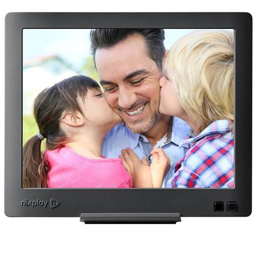 nixplay nixplay Edge Cloud WiFi Digital Picture Frame W08C