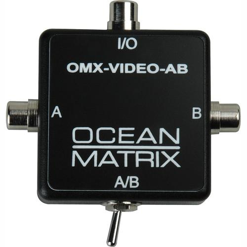 Ocean Matrix OMX-VIDEO-AB Composite Video RCA Input OMX-VIDEO-AB