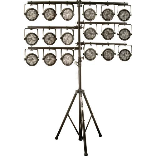 On-Stage Quick-Connect U-Mount Lighting Stand LS7720QIK