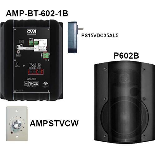 OWI Inc. AMP-BT-602-2BVC Kit of Two AMP-BT-602-2BVC