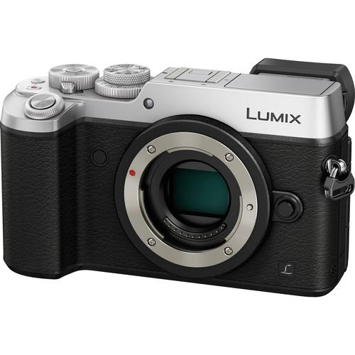 Panasonic DMC-GX8 Lumix Mirrorless Micro Four Thirds DMC-GX8/S (Silver)