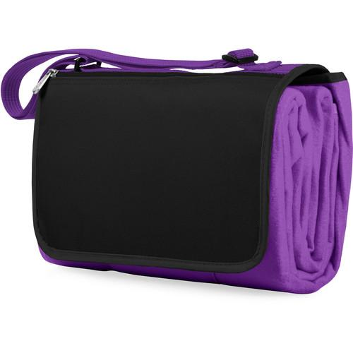 Picnic Time Blanket Tote (Purple) 820-00-101-000-0