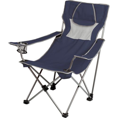 Picnic Time Campsite Chair (Navy/Gray) 806-00-138-000-0