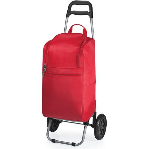 Picnic Time Cart Cooler with Trolley 545-00-100-000-0