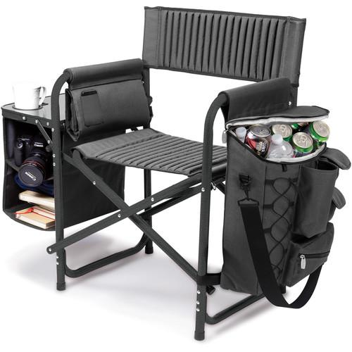 Picnic Time Fusion Camp Chair (Dark Gray/Black) 807-00-679-000-0