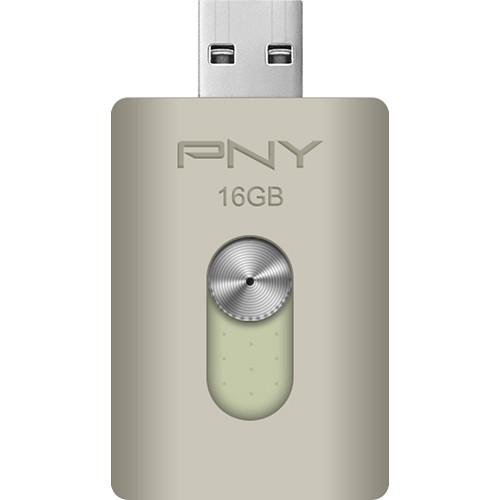 PNY Technologies 16GB Duo-Link On-the-Go USB P-FDI16GOTGA-GE