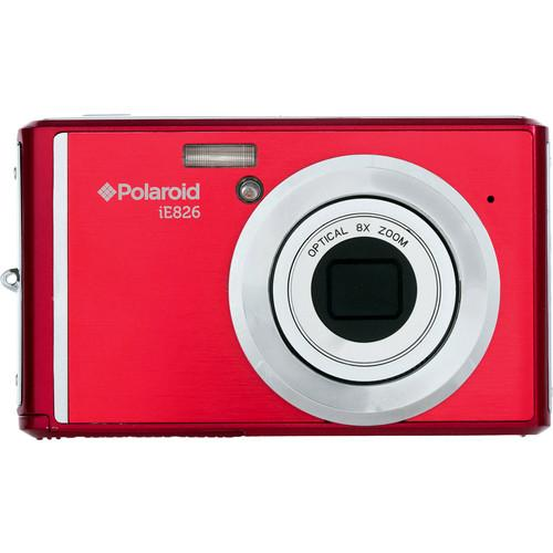 user manual polaroid ie826 digital camera red ie826 red pdf rh pdf manuals com Polaroid I1236 Manual I-630 Polaroid