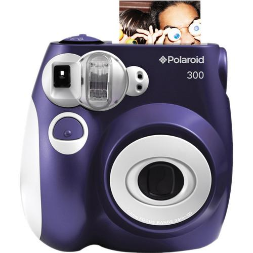 Polaroid Pic-300 Instant Film Camera Basic Kit (Purple)