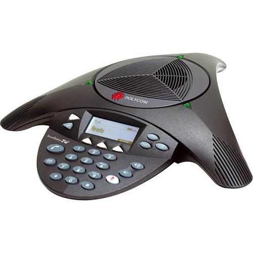 Polycom SoundStation2W Wireless Analog Conference 2200-07800-160