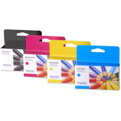 Primera Multi-Pack of Ink Cartridges for LX2000 Color 53465