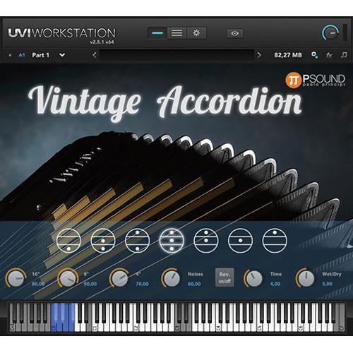 PSOUND Vintage Accordion Virtual Instrument 1148-1