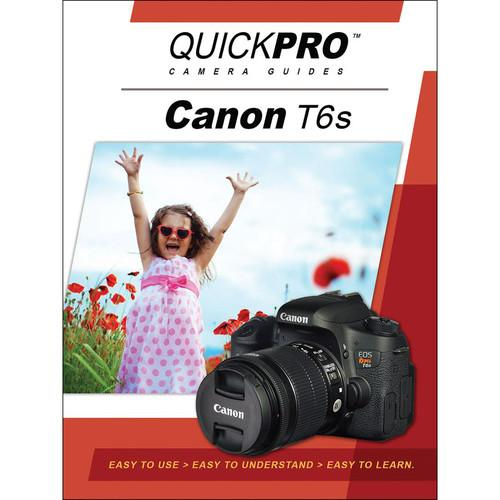 QuickPro DVD: Canon T6s Instructional Camera Guide 5225
