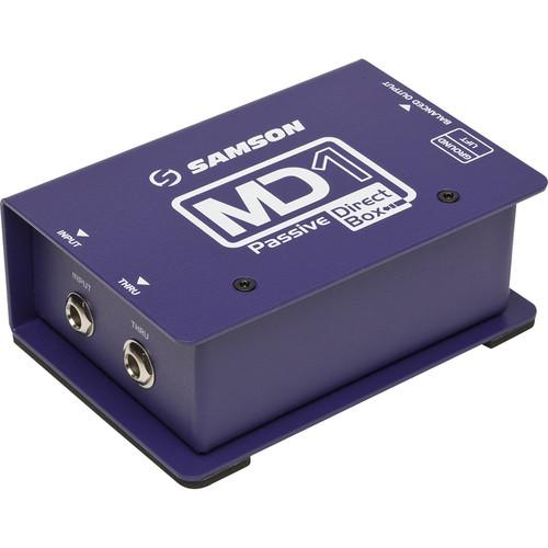Samson MD1 Single Channel Passive Direct Box SAMD1