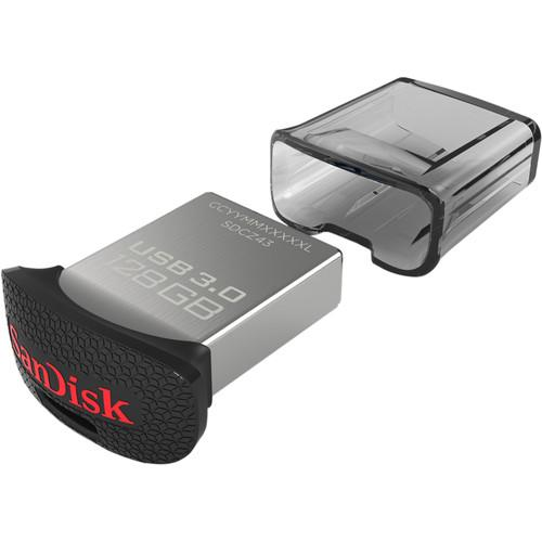 SanDisk 128GB CZ43 Ultra Fit USB 3.0 SDCZ43-128G-A46