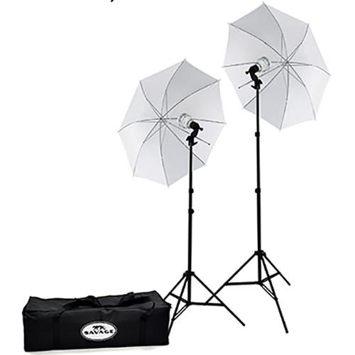 Savage  Savage 500W LED Studio Light Kit LED60K