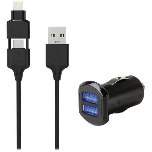 Scosche strikeDRIVE pro 12W   12W Car Charger for USB I3MC242M