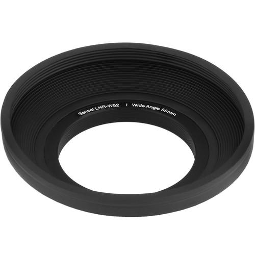 Sensei  52mm Wide Angle Rubber Lens Hood LHR-W52
