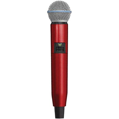 Shure WA723-RED Color Handle for GLX-D SM58/BETA58A WA723-RED