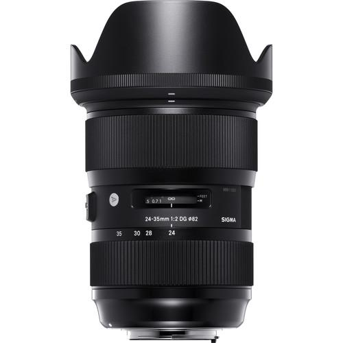 Sigma 24-35mm f/2 DG HSM Art Lens for Nikon F 588955