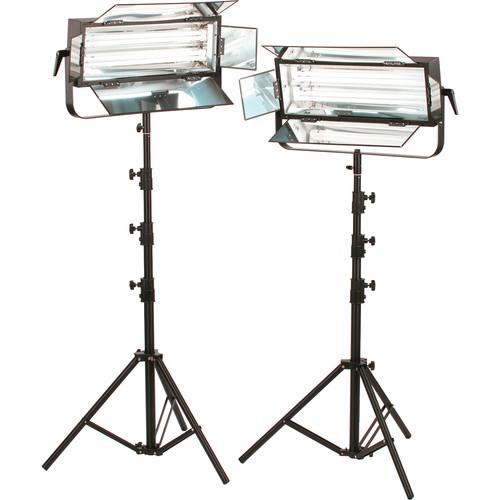 Smith-Victor FLO-110 220W Dimmable Fluorescent 2-Light Kit