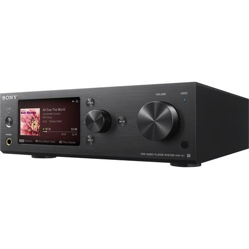 Sony HAP-S1/B - High Resolution Music Player System HAPS1/B