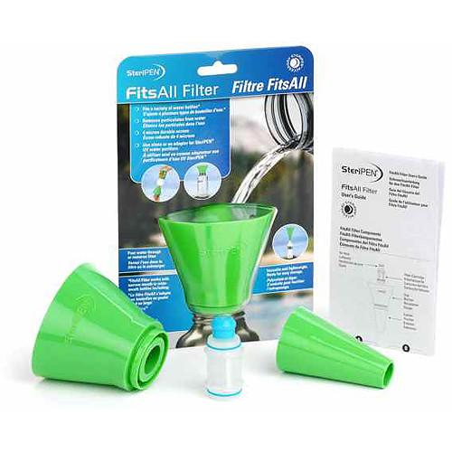 SteriPEN FitsAll Filter Kit for Water Bottles FAF-ADP