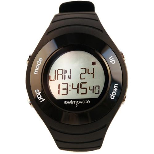Swimovate PoolMate HR Swimming Watch (Black) PMHR