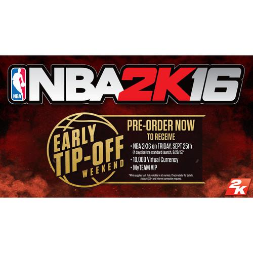Take-Two NBA 2K16 Early Tip Off Edition (PS4) 47631