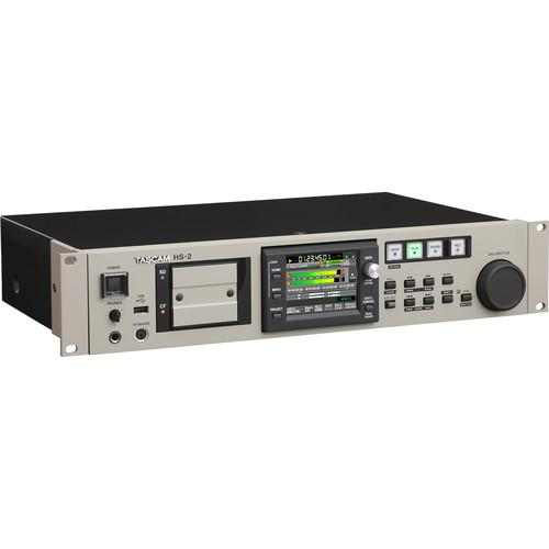 Tascam HS-2 Rackmount Solid-State Stereo Audio Recorder HS2.B