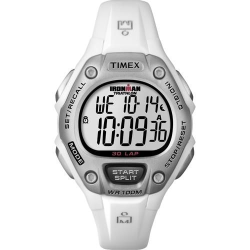 Timex IRONMAN 30-Lap Fitness Watch (White) T5K5159J