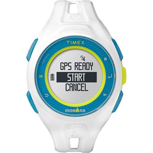 Timex IRONMAN Run x20 GPS Fitness Watch (White) TW5K95300F5