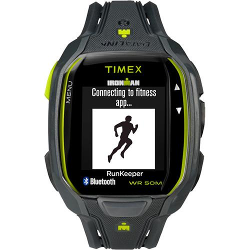 Timex IRONMAN Run x50  Fitness Watch (Black/Green) TW5K84500F5