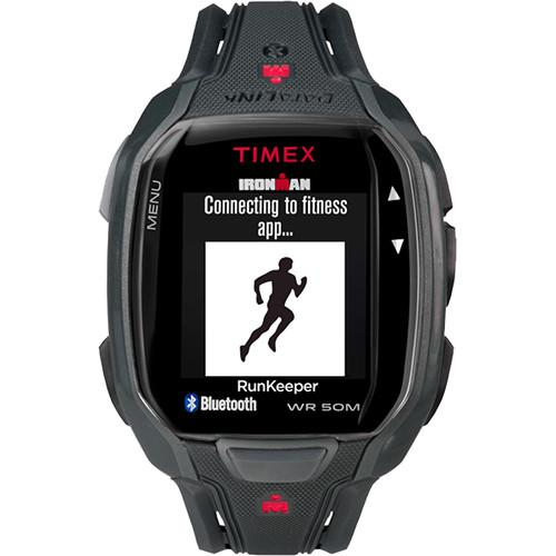 Timex IRONMAN Run x50  Fitness Watch (Black/Red) TW5K84600F5