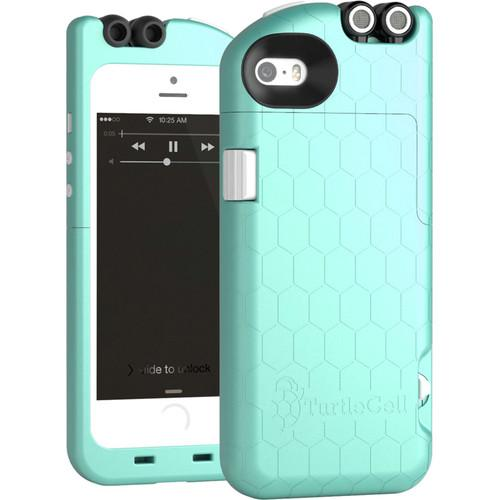 TurtleCell Case for iPhone 5/5s (Aqua Blue) 09544-PG