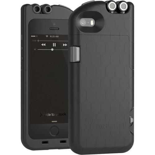 TurtleCell Case for iPhone 5/5s (Charcoal Black) 09545-PG