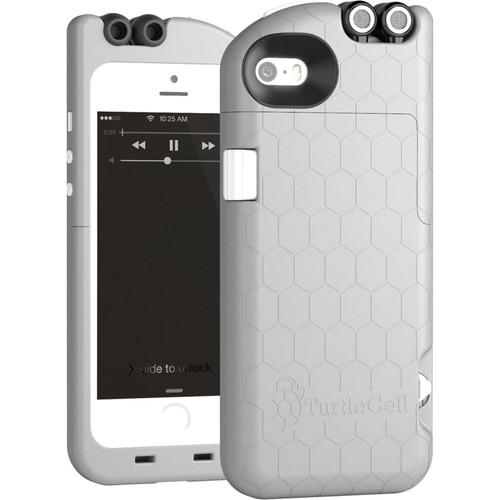 TurtleCell Case for iPhone 5/5s (Platinum Gray) 09547-PG