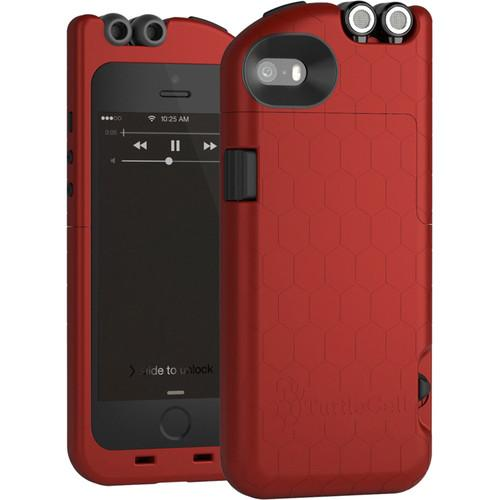 TurtleCell Case for iPhone 5/5s (Ruby Red) 09546-PG