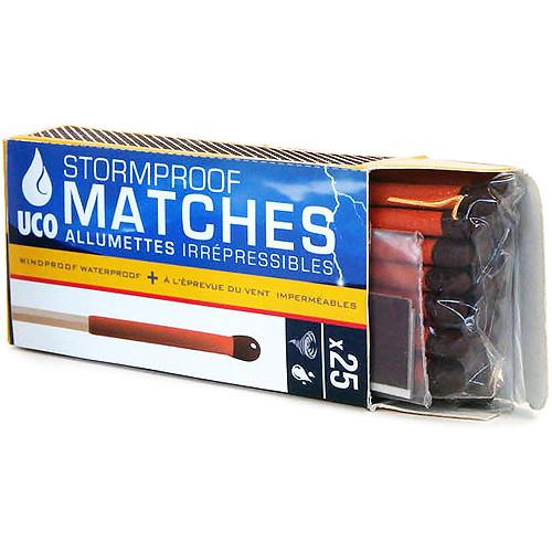 UCO  Stormproof Matches (25-Pack) MT-SM1-UCO