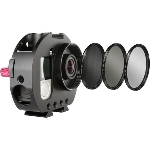 Varavon Armor GoPro Standard Cage with UV, AM-GOPRO W/FILTER KIT