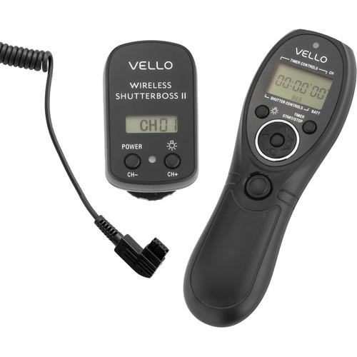 Vello Wireless ShutterBoss II Remote Switch RCW-II-S1