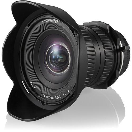 Venus Optics Laowa 15mm f/4 Macro Lens for Canon EF VE1540C