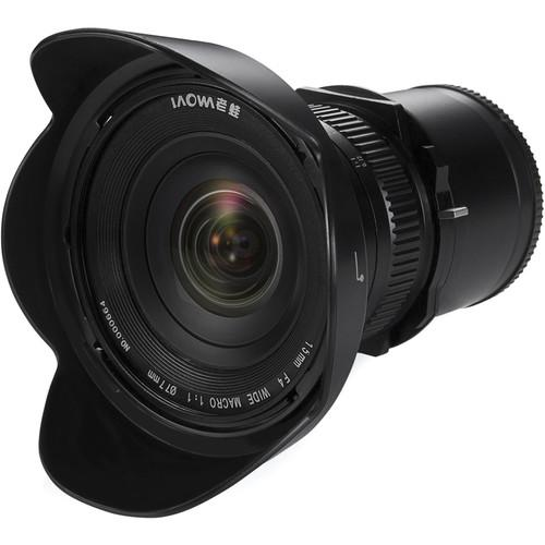 Venus Optics Laowa 15mm f/4 Macro Lens for Sony E VE1540SFE
