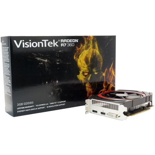 VisionTek  Radeon R7 360 Graphics Card 900806