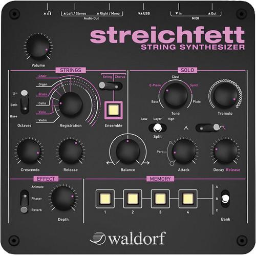 Waldorf Back to the Future Bundle with Streichfett String