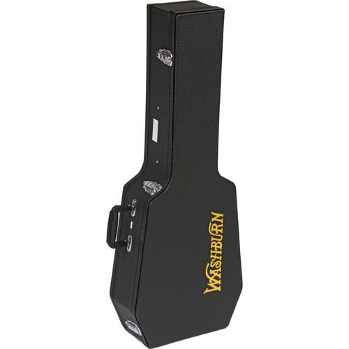Washburn GC141 Hardshell Case for Parlor Guitar (Black) GC141