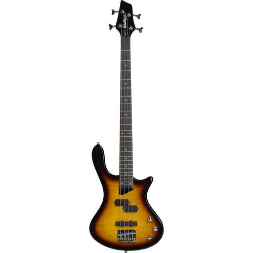 Washburn T14QTS Electric Bass Guitar (Tobacco Sunburst) T14QTS