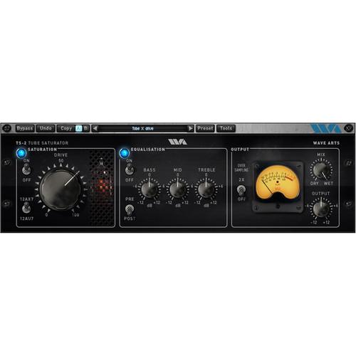 Wave Arts Tube Saturator 2 - Tube Emulation Plug-In 1035-501