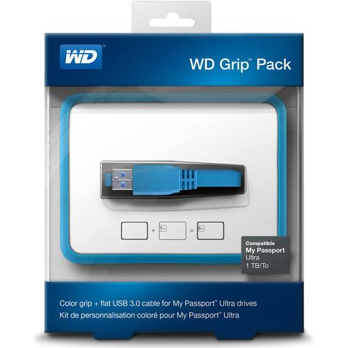 WD Grip Pack for 1TB My Passport Ultra (Sky) WDBZBY0000NBL-NASN